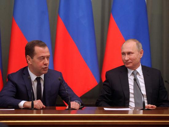 Эксперты поместили Медведева на первое место рейтинга вероятных преемников Путина