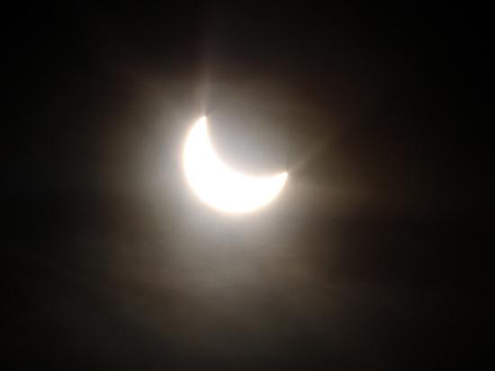 NASA продемонстрировало основные этапы «великого солнечного затмения»