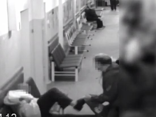 Опубликовано видео убийства врача в мурманском онкодиспансере