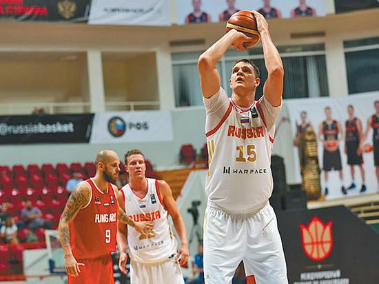 Сборная РФ побаскетболу определилась ссоставом