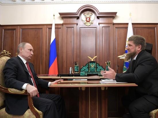 Путин ответил пригрозившему воспротивиться позиции России Кадырову