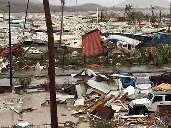 Чудом выжившая в урагане