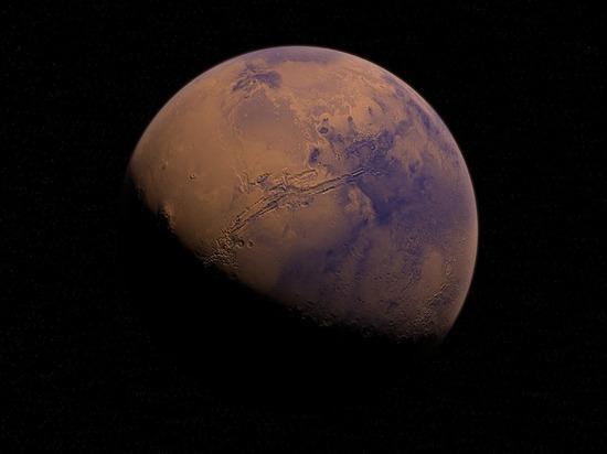 Российский прибор позволил обнаружить воду на Марсе
