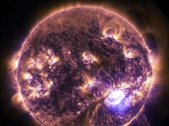 Рентгеновская вспышка на Солнце может вызвать полярное сияние в Москве