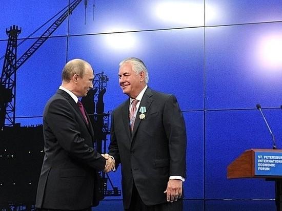 Путин пожалел госсекретаря США Тиллерсона: попал в «плохую компанию»