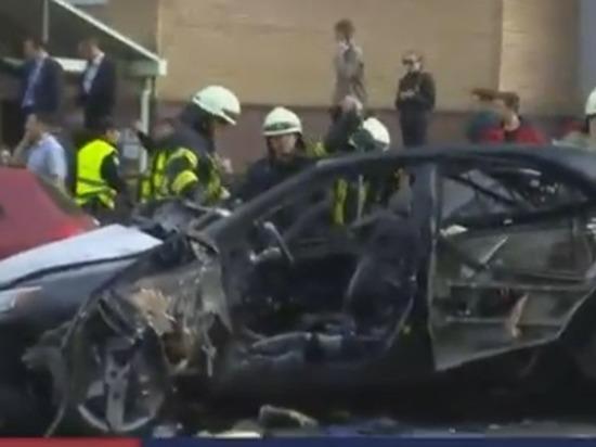 В Киеве взорвалась машина с грузинскими номерами: погиб участник АТО