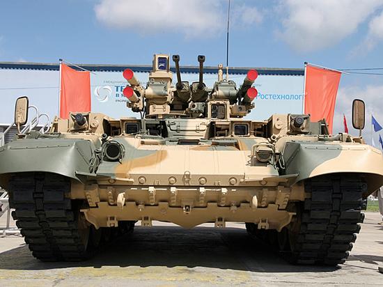 """Не для парадов: """"Терминатор"""" испытали в боевых условиях в Сирии"""