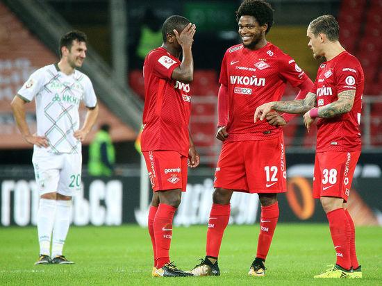 «Спартак» вдомашнем матче одержал победу над «Рубином»