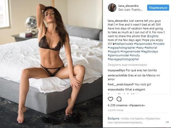 Публикующие эротические фото в поддержку жертв «Ирмы» модели возмутили интернет-пользователей