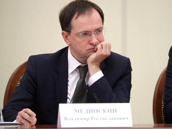 Мединский рассказал французам, что предпочитает их деятелей культуры российским