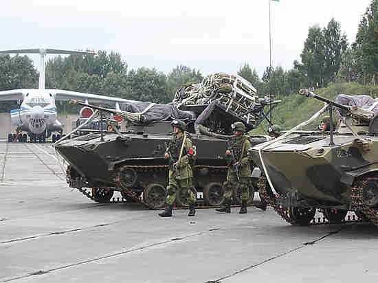 Стартовали совместные стратегические учения войск России иБелоруссии
