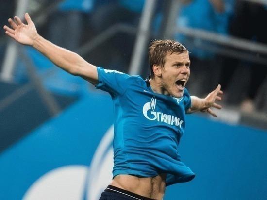 """""""Зенит"""" разгромил """"Вардар"""" в Лиге Европы со счетом 5:0"""