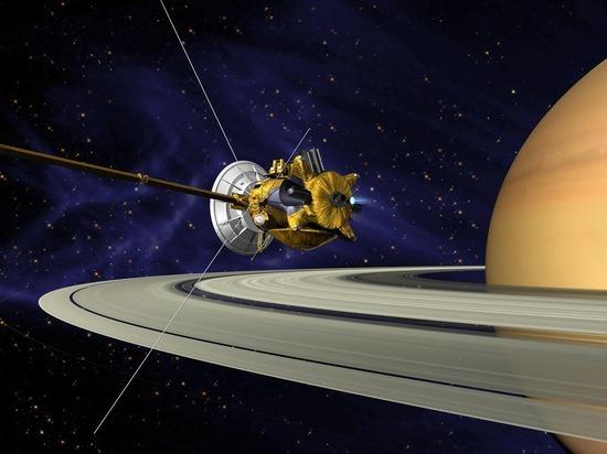 Легендарный зонд «Кассини» отправился навстречу гибели