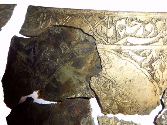Расшифровано послание на древней персидской чаше, найденной около парка «Зарядье»