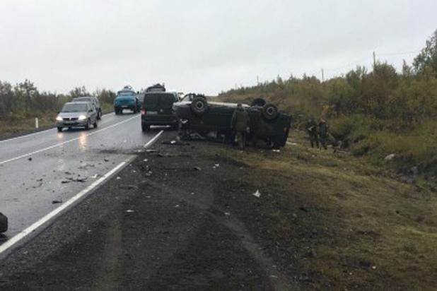 Командующий ВДВ Российской Федерации  попал в трагедию  вМурманской области