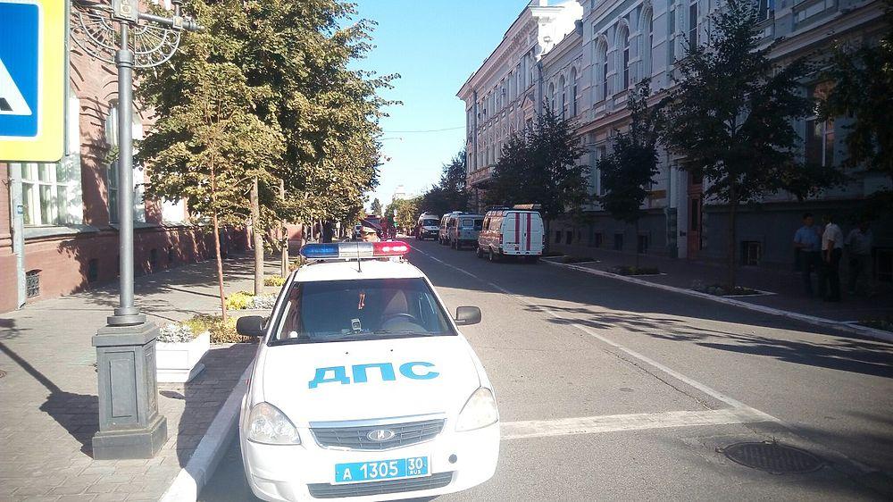 В Астрахани пошла волна минирования