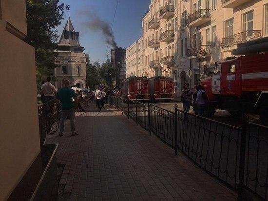 На месте пожара в отеле Ростова найдены тела двух администраторов