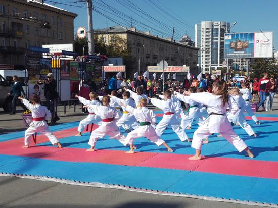 В Новосибирске отметили первую олимпийскую годовщину каратэ