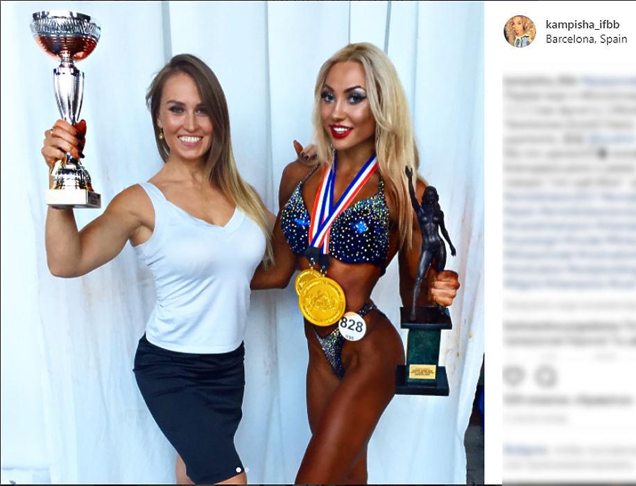 24-летняя КаринаПермякова из Уфы стала чемпионкой престижного соревнования по профессиональному бодибилдингу и фитнесу «Arnold Classic», которое проходит вИспании. Девушка занимается бодибилдингом с 2011 года, работает в качестве фитнес-инструктора, в свободное время увлекается верховой ездой и фотосессиями.