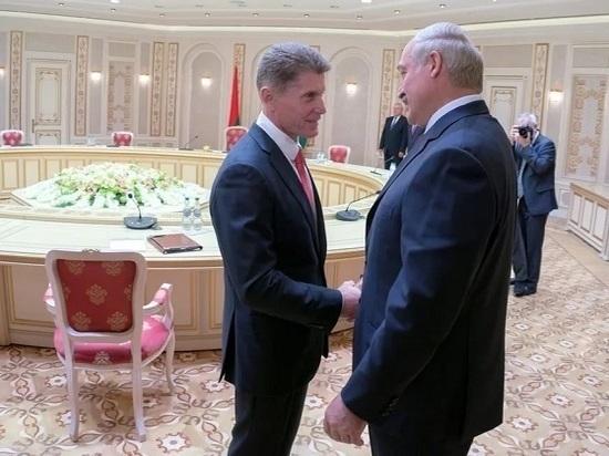 Александр Лукашенко наградил Олега Кожемяко орденом Почета