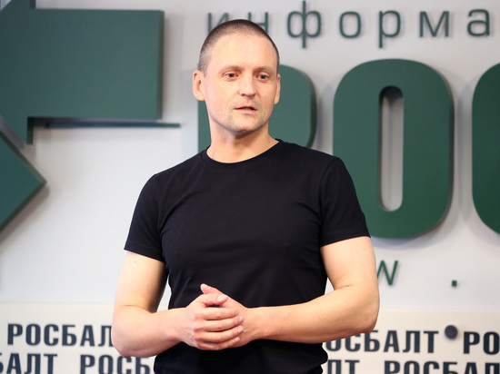 Удальцов объявил голодовку после объятий с Лимоновым