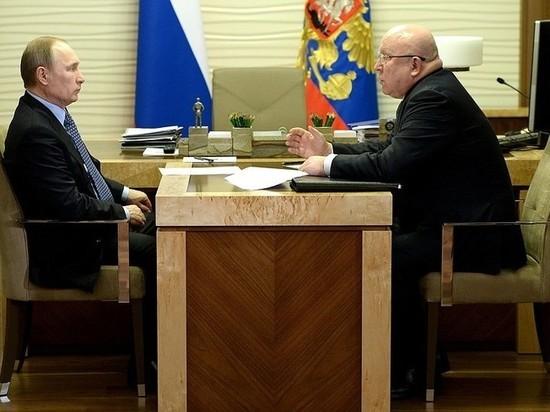 Губернатора Валерия Шанцева сократили после получения ордена
