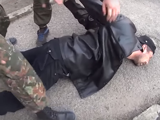 Задержанный за покушение на министра ДНР диверсант прикрывался формой ополченца
