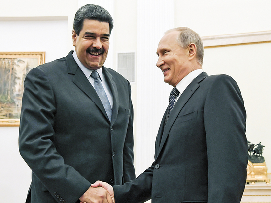 Мадуро прибыл напереговоры сЛукашенко
