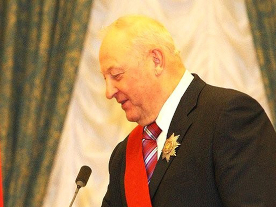 Экс-губернатор Свердловской области Эдуард Россель: