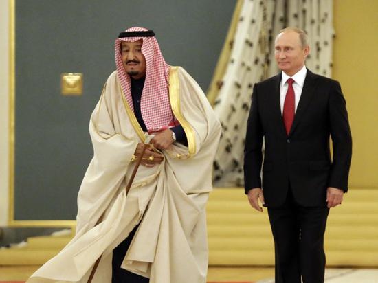 Церемонию встречи Путина с королем Саудовской Аравии сократили: монарх нездоров