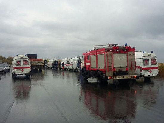ВДТП савтобусом вКоломне пострадали 24 человека— Минздрав Подмосковья