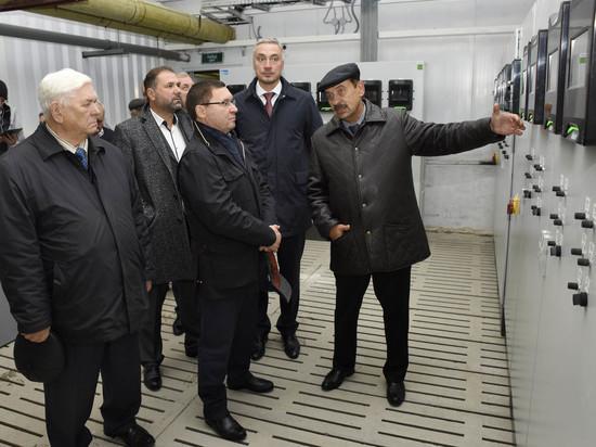В Нижнетавдинском районе открыли крупнейший племенной свинокомплекс