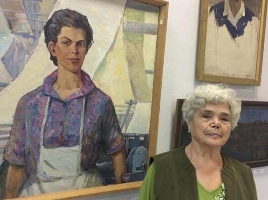 Мона Лиза из Орехово-Зуева: женщина увидела на выставке свой портрет