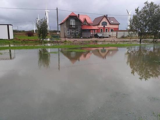 В Зеленоградском районе объявили режим ЧС из-за затопления 5 поселков