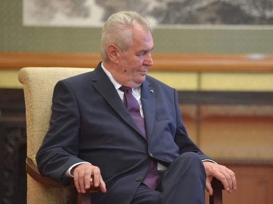Москва моглабы восполнить  Киеву полуостров Крым— Президент Чехии