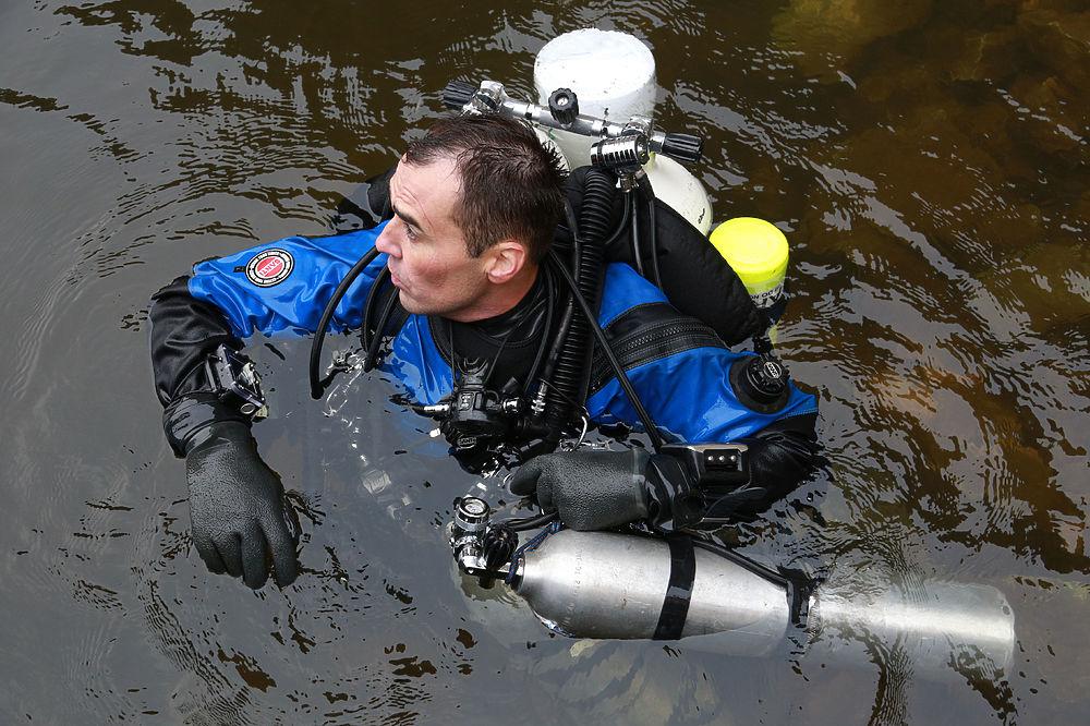 В Башкирии дайверы-спелеоподводники изучали уникальную подводную пещеру Сакаска