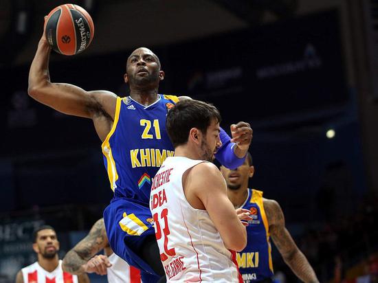 Баскетболисты «Химок» среди лидеров Евролиги