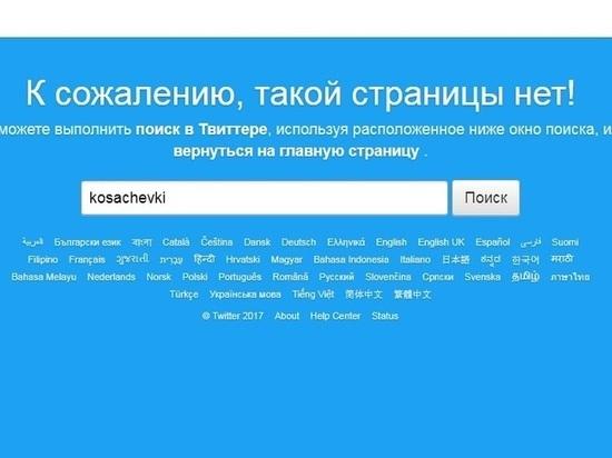 Косачев удалит собственный аккаунт в социальная сеть Twitter взнак протеста