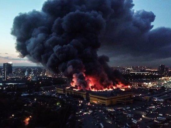 ПодмосковныйТЦ «Синдика» зажегся из-за поджога— специалисты