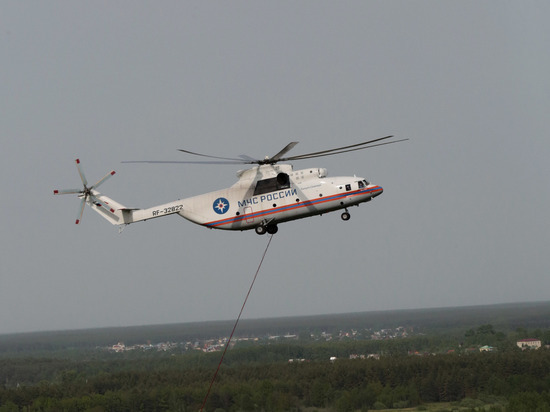 Cотрудники экстренных служб  ненашли людей взатонувшем вертолете Ми-8— Таинственное исчезновение