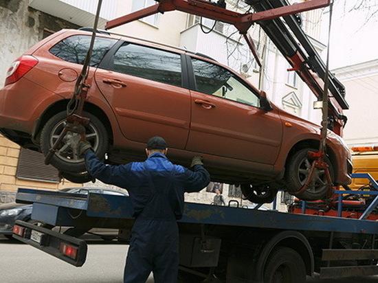 В Воронеже данные об эвакуированных автомобилях появятся в интернете
