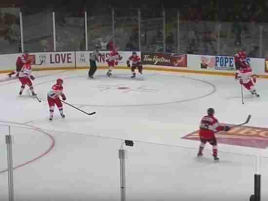 Молодежная сборная России по хоккею одержала волевую победу над Канадой