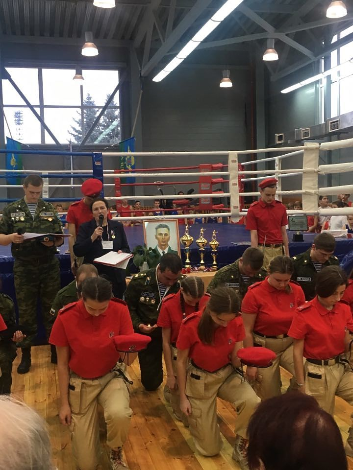 В Курчатове стартовал VIII Всероссийский турнир по боксу памяти Героя России Сергея Костина