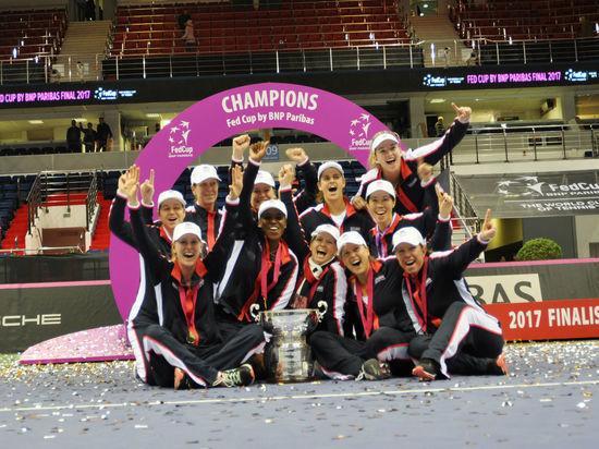 Сборная США по теннису победила Белоруссию и выиграла Кубок Федерации