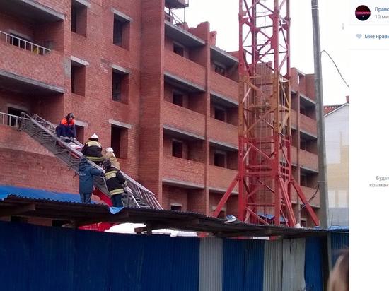 Обрушение новостройки в Саранске привело к гибели людей