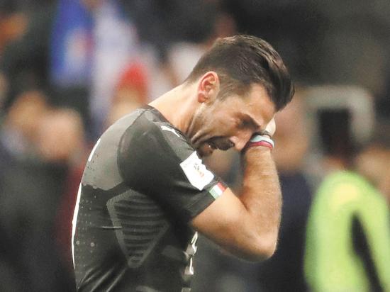 Футбол, чемпионат мира: сборная Италии пролетела мимо мундиаля