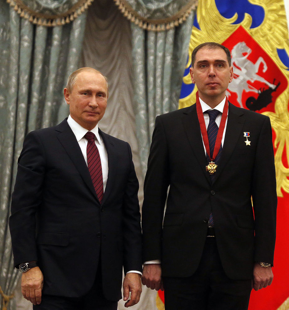 Путин в Кремле вручил государственные награды