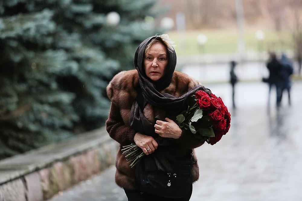 В Москве простились с телеведущим Борисом Ноткиным