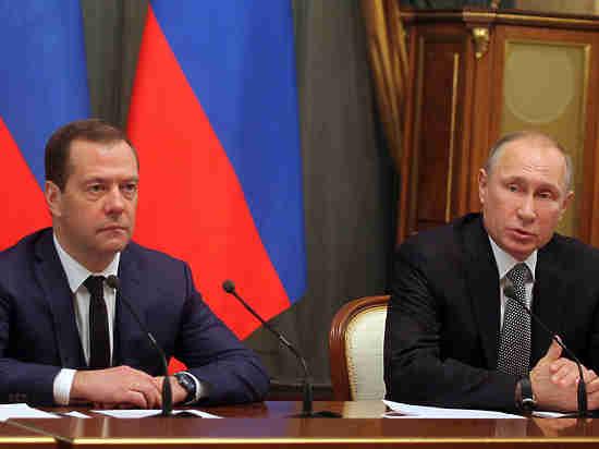 Бизнесмены пожаловались Путину на Медведева из-за новых сборов