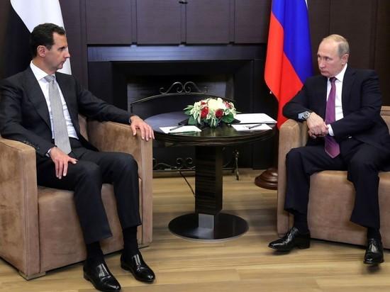 Сверхсекретная встреча Путина и Асада привела к новому витку геополитики
